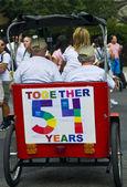 New York gay pride — Stock Photo