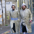 Stock Photo: Purim in MeShearim