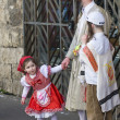 Purim in Mea Shearim - Stockfoto