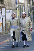 Purim in Mea Shearim — Stock Photo