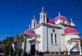 Church in Capernahum — Stock Photo