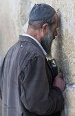 Oração no muro ocidental — Fotografia Stock