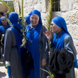 Jerusalem Palm sunday - Stock Photo