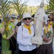 Jerusalem Palm sunday — Stock Photo #9854113