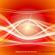 Background with abstract lines — Stock Vector #10229926