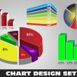 Royalty-Free Stock Immagine Vettoriale: Chart collection