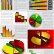 Infographic vector — Stock Vector #9289770
