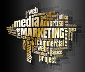 Marketing words — Stockvector