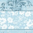 Floral background with place for your text - Vettoriali Stock