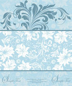 Floral background with place for your text — Stok Vektör