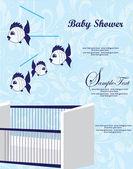 Baby Shower Announcement — Stock Vector