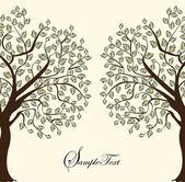 Family Reunion Invitation Card — Stock Vector