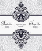 Vector decorative frame, or invitation cards — Cтоковый вектор