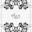 Stock Vector: Vector decorative frame, or invitation cards