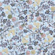 Floral seamless pattern, vector design — Image vectorielle