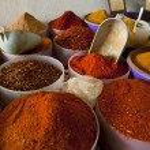 Spice markt — Stockfoto