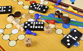 Board games — Stock Photo