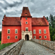 The Red chateau — Stock Photo #9610531