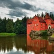 The Red chateau — Stock Photo #9610535
