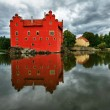 The Red chateau — Stock Photo #9610538