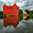 The Red chateau — Stock Photo