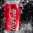 Coca Cola splash — Stock Photo #8816090