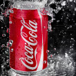 Coca Cola splash — Stock Photo