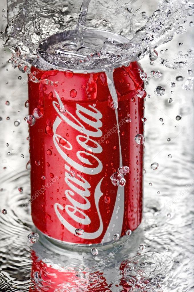 Coca cola splash photoshop