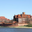 The old castle in Malbork - Poland. — Stock Photo #10636624
