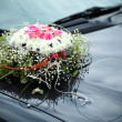 The elegant car for a wedding celebration — Stock Photo #8313210