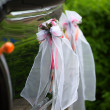 Elegant car for wedding celebration — Stock Photo #8313247