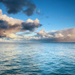 Blue sea sky, storm, tempest — Stock Photo