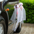 Stock Photo: The elegant car for a wedding celebration