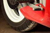 Motorcycle engine details — Stock Photo