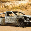 Burned car — Stock Photo #10052040