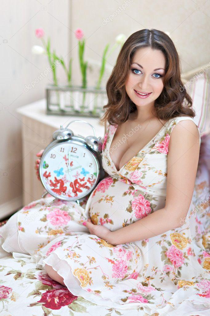 Фото беременная красавица