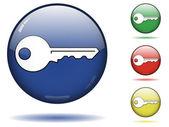 Conjunto de ícones chave — Vetorial Stock
