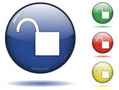 Desbloquear o conjunto de ícones — Vetorial Stock