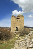 Castle ruins of Torockoszentgyorgy, Cetatea Coltesti, Romania — Stockfoto