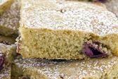 Torta di amarene fatta in casa fresca — Foto Stock