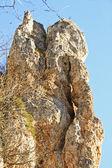 Limestone rock — Stock Photo