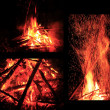 Bonfires — Stock Photo