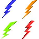 Lightning power — Stock Photo #10497694