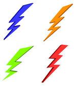 Lightning power — Stock Photo
