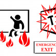 Emmergency exit — Stock Photo #10528546