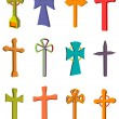 Cross set — Stock Photo #10565214