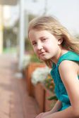 Retrato de uma menina — Foto Stock