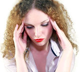 Huvudvärk — Stockfoto