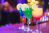 Světlý koktejl — Stock fotografie