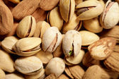 Nutty background — Stock Photo